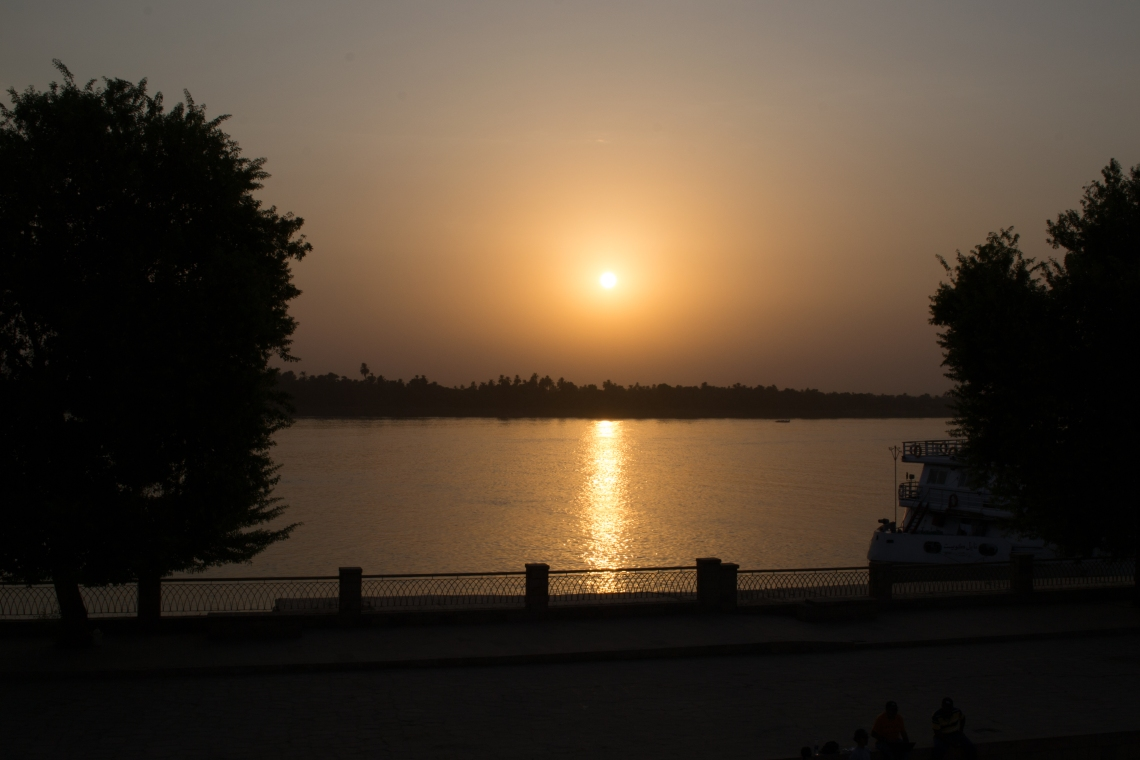 Sunset over the Nile (1 of 1)